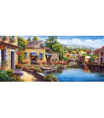Puzzle 3000 piese - City of Rothenburg